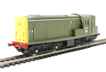 1513 Class 15 ADB968003 (Carriage pre - heating unit) in BR Sherwood green with full yellow ends