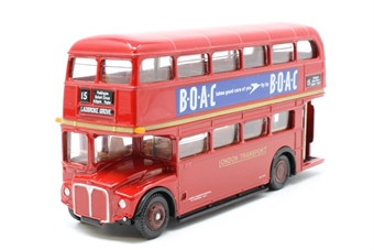 15601-PO22 AEC Routemaster, London Transport Red - 'BOAC' - Pre-owned - Like new