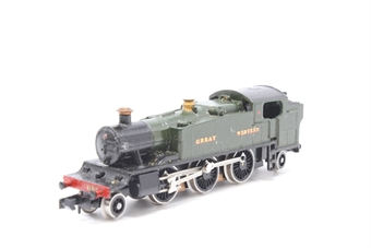 1604Farish-PO15 Class 81xx 2-6-2 8106 in GWR Green - Pre-owned - faded number decals - incorrect box