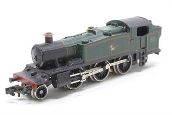 1605Farish-PO04 Class 61xx 2-6-2 6115 in BR Green - Pre-owned - replacement box