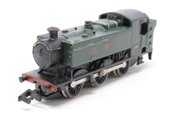 1605Farish-PO Class 61xx 2-6-2 6115 in BR Green - Pre-owned - body loose from chassis at one end, poor box