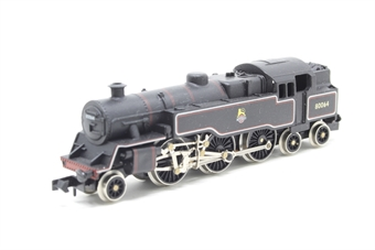 1655Farish-PO09 Class 4MT 2-6-4 80064 in BR black - Pre-owned - missing two buffers -  imperfect box