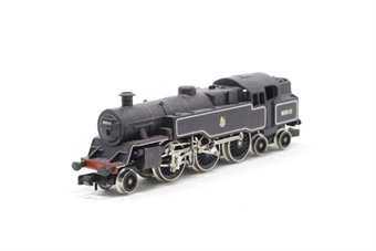 1655Farish-PO12 Class 4MT 2-6-4 80010 in BR black - Pre-owned - renumbered