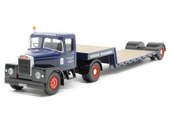 16701Corgi-PO01 Scammell Articulated and Low Loader Wrekin - Pre-owned - Like new