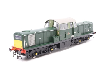 1700-PO03 Class 17 Clayton diesel D8568 in BR green with small yellow panels (as preserved) - Pre-owned - Slow Runner