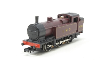 1701Farish-PO05 General Purpose 0-6-0T 16389 in LMS Lined Maroon - Pre-owned - imperfect box