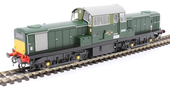 1721 Class 17 'Clayton' D8502 in BR green with small yellow panels