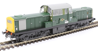 1722 Class 17 'Clayton' 8546 in BR green with full yellow ends