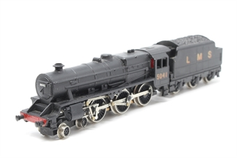 1801Farish-PO11 Class 5MT 'Black Five' 4-6-0 5041 in LMS Black - Pre-owned - poor runner, incorrect box, DCC fitted