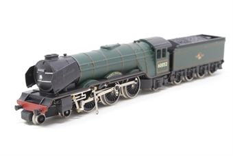 1827-PO02 Class A3 4-6-2 60052 'Prince Palatine' in BR Green - Pre-owned - detached valve gear - loose smoke deflectors - imperfect box