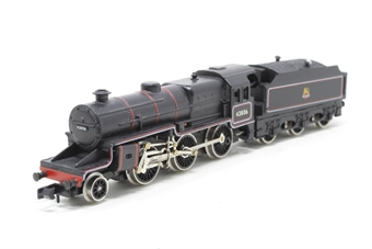 1855Farish-PO07 Class 5MT 'Crab' 2-6-0 42806 in BR Black - Pre-owned - chipped paint on tender, imperfect box