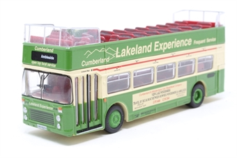 "18606-PO04 Bristol/ECW VR3 open top d/deck bus ""Cumberland (Lakeland Experience)"" - Pre-owned - Like new"