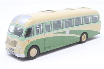 """18713-PO03 Bedford SB Super Vega coach """"Greenslades"""" - Pre-owned - Like new"""