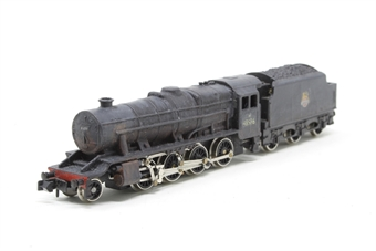 1905Farish-PO11 Class 8F 2-8-0 48536 in BR Black - Pre-owned - weathered & renumbered - incorrect box