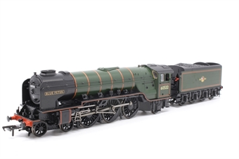 """20-2009-PO04 Class A2 4-6-2 60532 """"Blue Peter"""" in BR brunswick green wth late crest in wooden box - Pre-owned - Like new"""