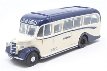 """20102-PO10 Bedford OB/Duple - """"Royal Blue"""" - Pre-owned - Like new £12"""