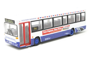 """20611-PO02 Plaxton Pointer - Dennis Dart - """"Western National"""" - Pre-owned - Like new"""