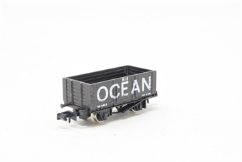 2124-PO05 7 Plank Wagon 'Ocean' - Pre-owned - Like new