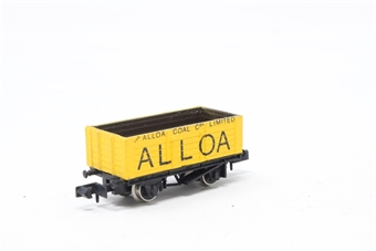 2128Farish-PO02 6 Plank Wagon 'Alloa' - Pre-owned - Like new