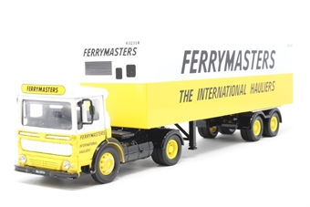 "21301COR-PO04 AEC Box Trailer Set ""Ferry Masters"" - Pre-owned - Like new - imperfect box"