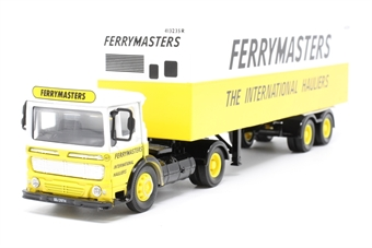 "21301COR-PO05 AEC Box Trailer Set ""Ferry Masters"" - Pre-owned - Like new"