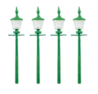 213 Station or street lamps - pack of four - plastic kit