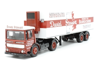 21402Corgi-PO02 AEC Refrigerated Box Trailer - 'Daniel Stewart' - Pre-owned - Like new