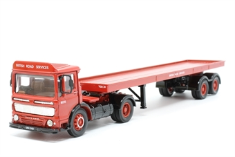 22101COR-PO02 Leyland Ergomatic Cab & Trailer 'BRS' - Pre-owned - Like new