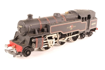 2218-PO01 Class 4MT 2-6-4 80033 in BR Black - Pre-owned - marks on buffers- forward coupling hook bent - rear coupling hook missing - replacement box £58