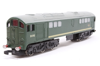 2233Dublo-PO07 Class 28 D5702 in BR Green - Pre-owned - imperfect box - instructions not included