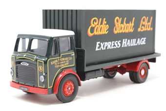 "25102COR-PO04 Leyland Beaver Platform Lorry & Load 4 wheel ""Eddide Stobart"" - Pre-owned - Like new - imperfect box"