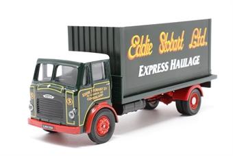 "25102COR-PO05 Leyland Beaver Platform Lorry & Load 4 wheel ""Eddie Stobart"" - Pre-owned - Like new"