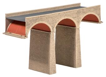 251 Three arch stone viaduct - plastic kit