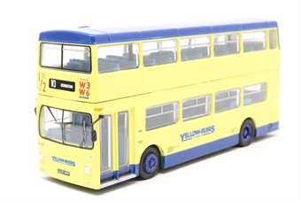 "25809-PO DMS type Daimler Fleetline 1 door d/deck bus ""Bournemouth Yellow Buses"" - Pre-owned - Like new"
