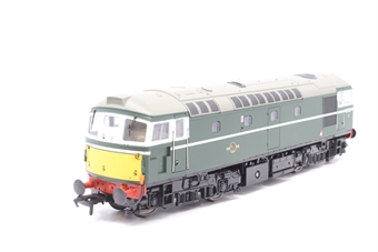 2607-PO01 Class 26 Diesel D5332 BR Green with small yellow panels. - Pre-owned - Like new