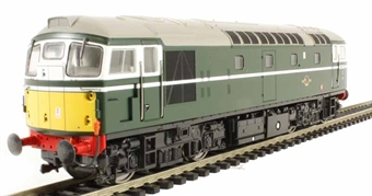 2609 Class 26 D5341 in BR green with small yellow panels
