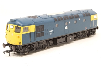 2612-PO02 Class 26 BRCW Sulzer diesel 26027 in BR blue with full yellow ends - Pre-owned - Like new, imperfect box