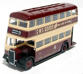 "26311 Guy Arab 2 utility 1940's d/deck bus ""Cardiff Corporation"""