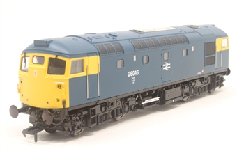 2632-PO01 Class 26 BRCW Sulzer diesel 26046 in BR blue with full yellow ends - Pre-owned - Like new