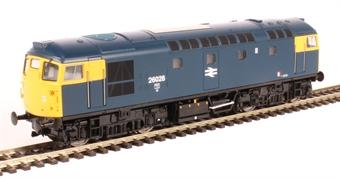 2638 Class 26/1 26028 in BR blue £110.46