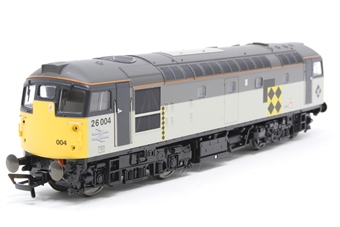 2653-PO01 Class 26 diesel 26004 in Railfreight Coal Sector livery - Pre-owned - Like new - Imperfect box
