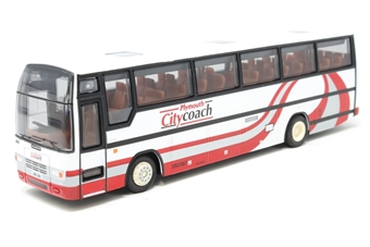 "26603-PO02 Plaxton Paramount 3500 coach ""Plymouth City"" - Pre-owned - Like new £9"