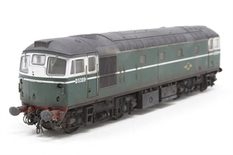 2662-PO06 Class 26/0 diesel D5309 in BR green - Pre-owned - weathered - incorrect box