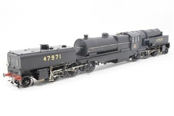 "266210-PO01 Beyer Garratt 2-6-0 0-6-2 47971 BR ""Lion on wheel"" emblems on cabsides & block-style numbers on tanks 1948-51. Lightly weathered - Pre-owned - DCC fitted, black paint marks on running gear £240"