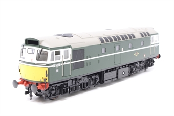 2706-PO Class 27 BRCW Sulzer diesel D5385 in BR green with small yellow panels - Pre-owned - Missing Headcode Panels