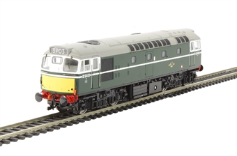 2712 Class 27 D5403 in BR green with small yellow panels