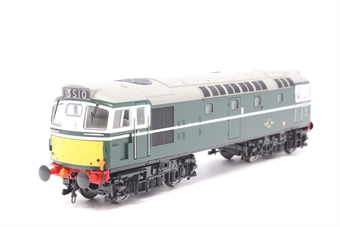2726-PO01 Class 27 D5347 in BR green with small yellow panels - Pre-owned -  Fuel tank/Battery box loose, one headboard loose