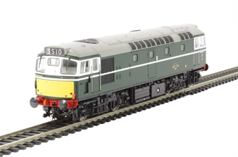 2726 Class 27 D5347 in BR green with small yellow panels