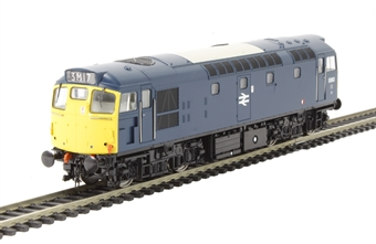 2727 Class 27 5363 in BR blue with full yellow ends