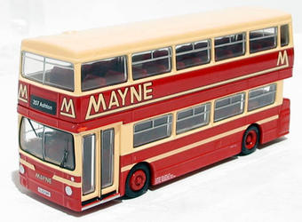 "28001 DMS type Daimler Fleetline restyled d/deck bus ""Mayne"" of Manchester"